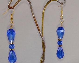 Blue Skies Handmade Earrings GEOnline 0043