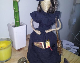 Black Witch doll ( 30cm)