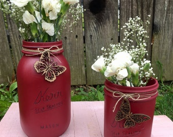red jar set