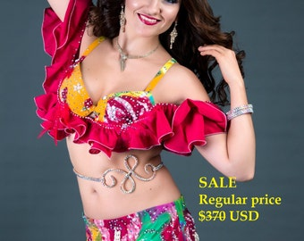 SALE, belly dance costume,  dance costume, belly dance, danza del vientre, Bauchtanz, bellydance, oriental dance, arabic costume