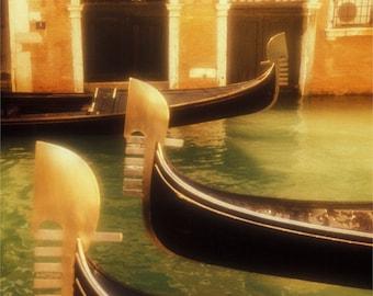 Venice, Three Gondolas