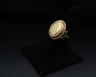 Vintage Locket Ring