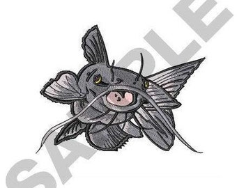 Catfish - Machine Embroidery Design