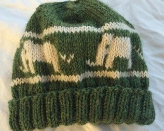 Green Elephant Hat