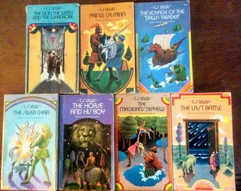 Chronicles of Narnia Set 1970 Paperback