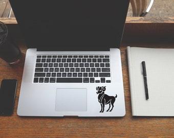 Horoscope Aries decal sticker for Laptop, Phone, Macbook, Wall art, Car, Mirror, Window, Door  #156