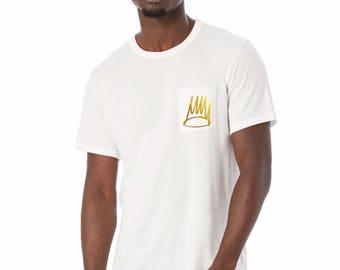 J Cole - Pocket Tee - J Cole Shirt - Dreamville - J Cole Clothing - J Cole Shirts - JCole - Cole Shirt - Born Sinner - Cole - J Cole T Shirt