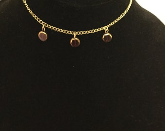 Three Stone Choker