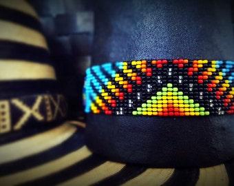 Bracelet of beads. Art Kamsa