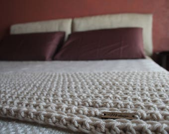 RUNNER-double, Made in Italy, crochet, Handmade in Italy