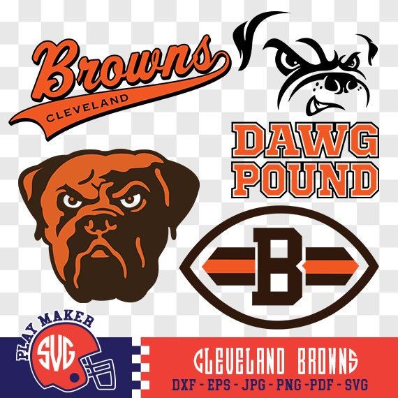 Cleveland Browns SVG Browns Football Clipart Cleveland