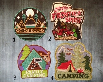 Go Wild In Forest Iron On Patches