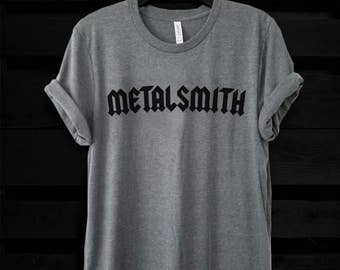Metalsmith Jeweler Shirt, Men's and Women's Jewelry Tee, Mens Jeweler Shirt, Womens Metalsmith Tee, Maker Jeweler Gift, Gift for Her,