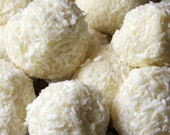 Coconut Donut Holes Dog Treats