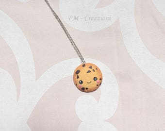 Kawaii biscuit necklace. kawaii cookie.