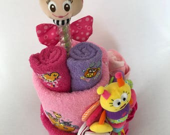 Double Trouble Nappy Cake