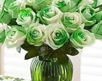 Personalized messages on live flowers