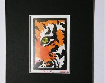 ACEO- Tiger Eye