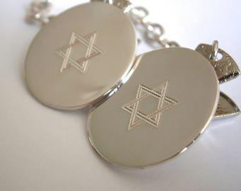 Judaica: Maguen David Talit Clip
