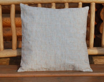 Zig-zag Embroidered Geometric Pillow Case - Pillow Cover - Pillow Sham