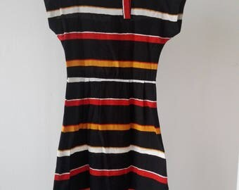Vintage Striped Dress /used