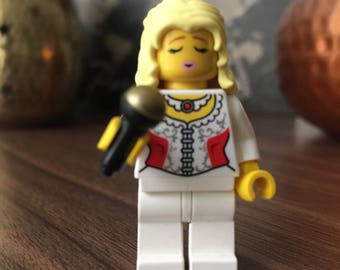Dolly Parton country music LEGO figure