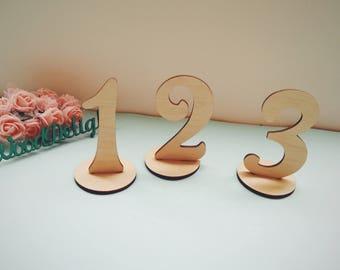 Wedding table numbers wooden table numbers DIY table numbers wedding Table Numbers Set Wedding Table Decor Wood Table Numbers wedding