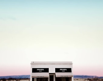 Prada Marfa, Marfa Texas, Modern Texas Decor, Desert Landscape, Minimalism, Photo Download