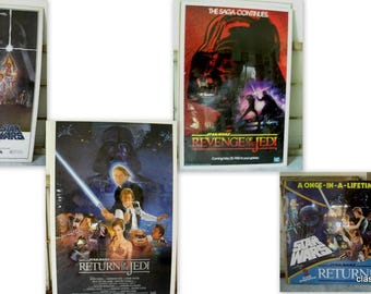 Orig Collectors edition Star Wars Movie Teaser/Tear Sheets from the 1980's 5/5