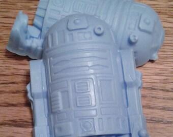 Star Wars soaps - r2d2 - Millenium Falcon - Han Solo in carbonite