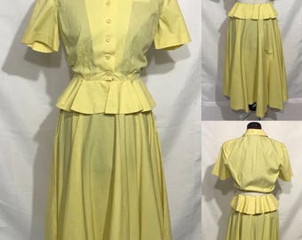 1940's | Skirt Suit | handmade