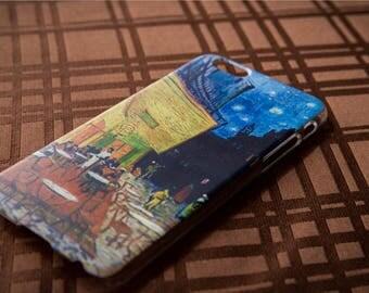 Vincent Van Gogh - Café Terrace at Night - Iphone case 6/6s - Artsy Gift