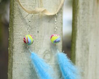 Hippie Feather Earrings