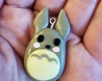 Totoro Clay Charm