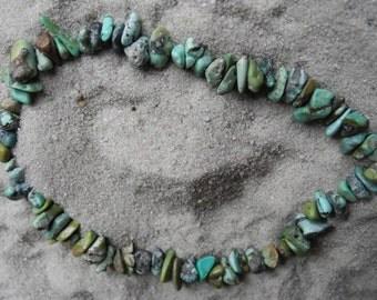 Sliver bracelet turquoise pur