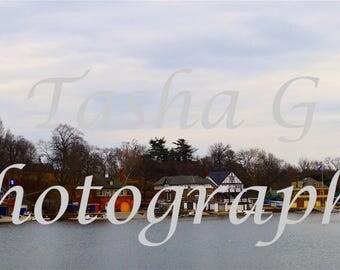 Boathouse Row Philadelphia Photography Print or Canvas