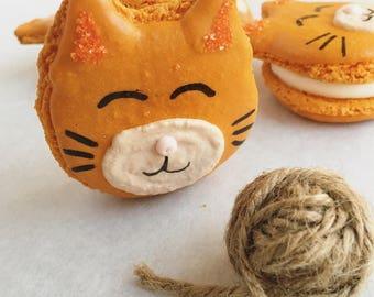 Half Dozen Kitty Macaron
