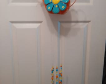 Watering Can Flatware Windchime
