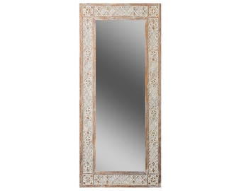 Ethnic frame for mirror Papua, moroccan mirror, african mirror, berber mirror, custom mirror frame, entry mirror, large mirror, floor mirror
