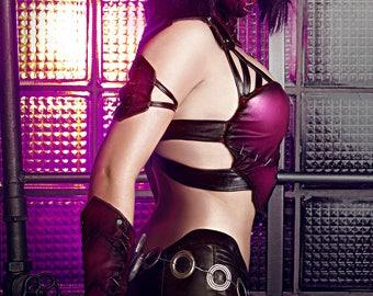 Mileena (Mortal Kombat 9) cosplay print