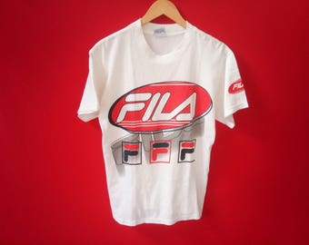 vintage Fila casual small mens t-shirt