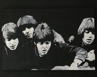 The Beatles original canvas