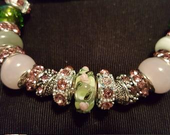 Translucent Rosebud Bracelet