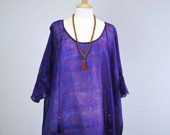 Fiolett Sari Maxi Dress