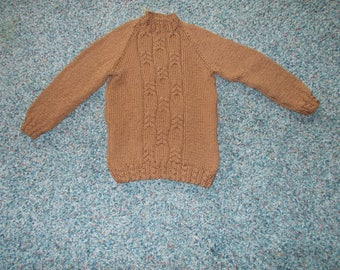 Child cable sweater