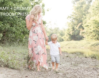 Creamy and Dreamy Lightroom Preset for Photographers - Instant Download