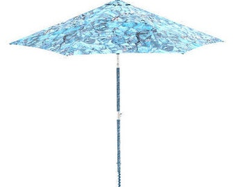 Electric Beach Umbrella that It settler in the Sand with a Click ! Model Fresco