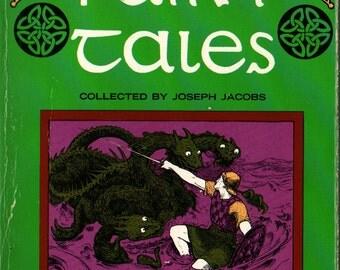 Celtic Fairy Tales - Joseph Jacobs - John D. Batten - 1968 - Vintage Book