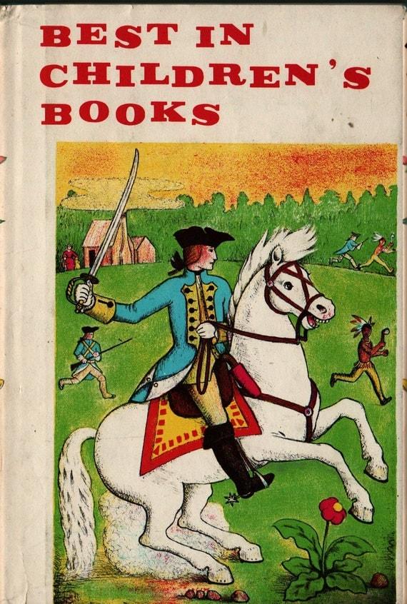 Best in Children's Books Vol. 18 - R.L. Stevenson,  D'Aulaire, Flack, Aesop, Gruelle, Ruth Ives, Rojankovsky, Kessler  - 1959 - Vintage Kids