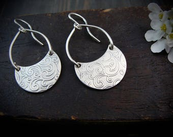 garden gate ... sterling silver dangles